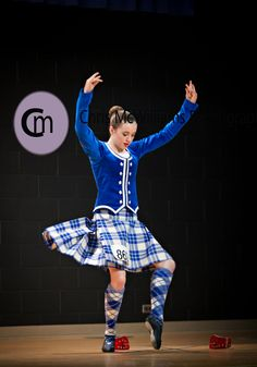 Kilt with royal blue jacket #macgregor #royal #tartan