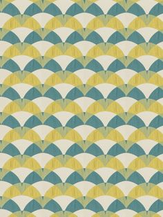 A contemporary upholstery fabric in a geometric design of turquoise blue and citrus yellow on a white background. This home decor fabric is suitable for light furniture upholstery, drapery panels and bedding. See additional color links, curtain/roman shade information and custom pillow cover pricing below. This listing is for fabric by the yard.  FABRIC SAMPLES:  Fabric Name for Sample Order: Wilmington Order Fabric Swatches Here: https://www.etsy.com/listing/12510178...