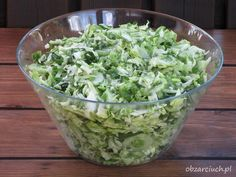 Polish Recipes, Polish Food, Veggie Dishes, Kraut, Lettuce, Guacamole, Love Food, Cabbage, Menu