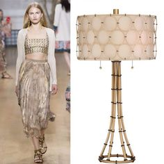 Good as Gold! Metallic's have been taking over the runways at New York's Fashion Week. Quoizel Lighting, Home Lighting, Runway, Nyc, Metal, Instagram Posts, Gold, Home Decor, Style