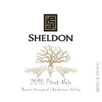 Sheldon 2010 Pinot Noir, Romas Vyd., Anderson Valley at WineExpress.com
