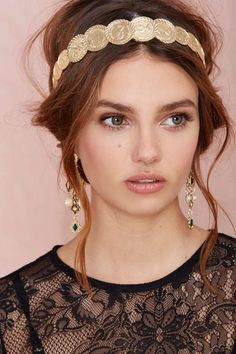On the Money Coin Headband   Shop Accessories at Nasty Gal