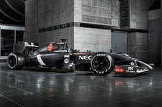 Sauber are the latest team to uncover their 2014 car, after the Ferrari-powered was revealed in a digital launch on Sunday. Escuderias F1, Gp F1, Racing News, F1 Racing, Red Bull, Grand Prix, Gq, Formula 1 Gp, Hamilton
