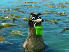 Gerald from finding dory!