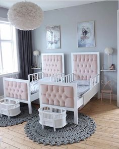 With shared rooms, you have to decorate the room in a way that both kids will be happy with. Below are some shared room ideas to inspire your children's room.