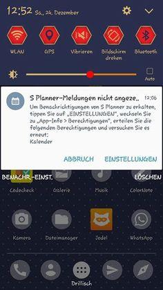 """Hallo Samsung, leider werde ich von meinem Handy inzwischen mit Benachrichtigungen quasi belästigt von Apps, die ich nicht nutze und auch nicht nutzen möchte. Zum einen ist es """"briefing"""", das sich nicht abstellen lässt und zum anderen S Planner, das mich jetzt benachrichtigt ich müsse folgende Berechtigungen erteilen, um Benachrichtigungen zu erhalten (die ich ja gar nicht will!). So langsam wird es echt dreist... Naja zumindest ist mein Akku noch nicht explodiert..."""