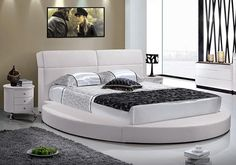 15 Stylish and Gorgeous Round Bed Designs