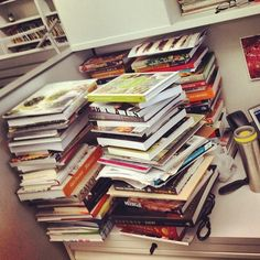 We think it's safe to assume Food Editor, Stacy Adimando, is a cookbook lover!