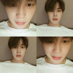 Jimin without make up is really so handsome and pure!!