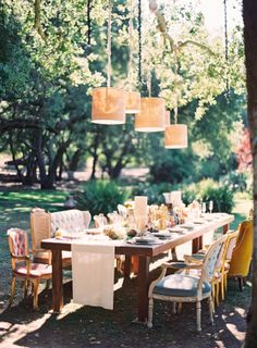 Eclectic Mismatched Wedding Chairs