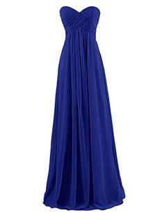 Dresstells® Sweetheart Bridesmaid Chiffon Prom Dresses Long Evening Gowns for Juniors Size 2 Royal blue Dresstells http://www.amazon.com/dp/B00H5IJOKW/ref=cm_sw_r_pi_dp_nnVPvb1QQ85SM