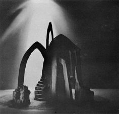 Adolphe Appia, (1862-1928) was a Swiss architect, stage designer and theorist of stage lighting and décor. His theories and realized works transformed the practice of stage design and he had a great influence on the development of performing arts. His sets and his drawings didn't look for...