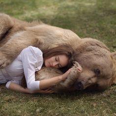 One bear. One love . #thebestbearever