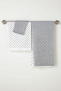 Freckled Shadow Towel / Anthropologie.com