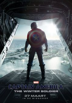Can't wait to see Captain America: The Winter Soldier (2014)