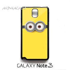 Despicable Me 2 Minion Samsung Galaxy Note 3 Case Cover Black