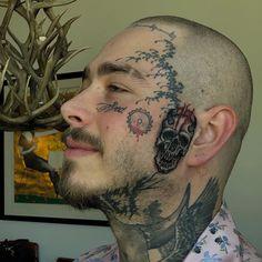 #blxckink #blxckink_usa #usatattoo #tattoousa #tattoopenndel #penndeltattoo #facetattoo #postmalone