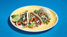 Fish tacos, that gre