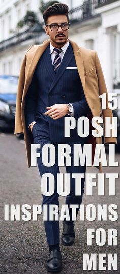 15 Posh Formal Outfit Inspirations For Men. Formal Men Outfit, Men Formal, Formal Wear, Formal Outfits, Mens Fashion Blog, Fashion Outfits, Men's Fashion, Fashion Tips, Mens Style Guide