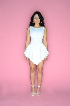 WHITE MARILYN DRESS
