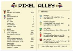 pixel-alley-menu