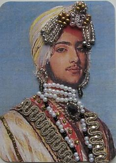 The Maharajah Duleep Singh(1838-1893)..atc 325 by ATC Riet, via Flickr