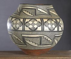 Acoma Olla. Each tribe has its own unique style and artistry.