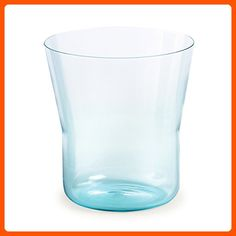 Authentics Piu Vase 15, Mouthblown Glass, Light Blue, 15 cm, Ø 14 cm, 2818566 - Kitchen gadgets (*Amazon Partner-Link)