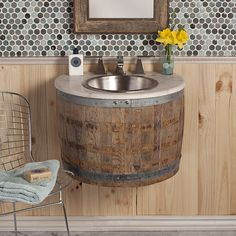 Native Trails VNW241 Bordeaux Bathroom Vanity, Natural Oak