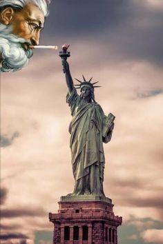Statue Of Liberty, Humor, Travel, Design, Statue Of Liberty Facts, Viajes, Statue Of Libery, Humour