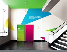+ RE:BRANDING TORONTO HIGHSCHOOLS by Yana Stepchenko, via Behance