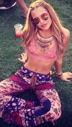 Cute bralettes are perfect for festival outfits!