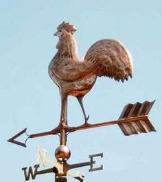Rooster Weathervane. For the Potting Shed & Chicken House. Getting this in the Spring!