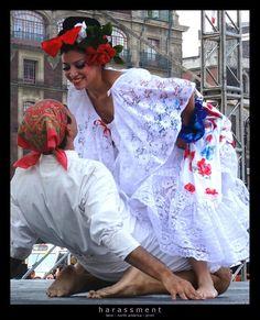 Baile tipico de Veracruz