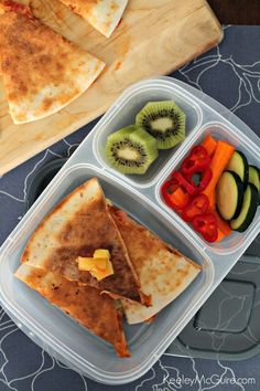 Gluten-Free Hawaiian Pizza Quesadillas