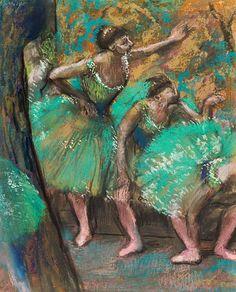 The Dancers, Edgar Degas, 1898