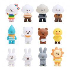 White Cloud Fluffy House Figure Mini Series (◕ᴥ◕) Kawaii Panda - Making Life Cuter Amazing Drawings, Beautiful Drawings, Colorful Drawings, 3d Character, Character Design, Book Page Art, Type Illustration, Modelos 3d, Mascot Design