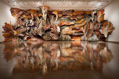 Installation by Henrique Oliveira