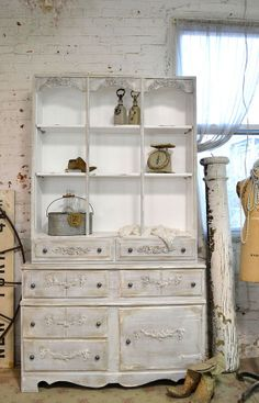 Painted Cottage Chic Shabby  Romantic Farmhouse by paintedcottages, $525.00