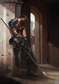 m Gladiator Armor arena urban city Spear Image result for Fantastique