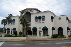 """The Paramount Theatre Building, at 145 North County Road, Palm Beach was built in November, 1926 to the Mediterranean Revival design of Joseph Urban. The official grand opening took place on January 9, 1927 with the premier of """"Beau Gest"""", starring Ronald Colman.  When it opened there were 1080 orchestra seats and 156 box seats. Early drawings show 26 boxes with three ranks each."""