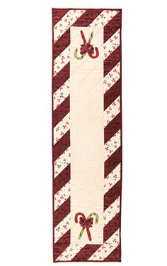peppermint table runner to download