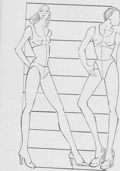 """""""Come disegnare la moda"""" P.J. Ireland"""