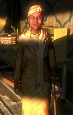 Grace Halloway in her safe house // Courtesy of BioShock wiki's article on Grace Halloway Bioshock Rapture, Bioshock Game, Bioshock Infinite, Fantasy Sword, Beyond The Sea, Songs To Sing, S Man, Female Characters, Old Hollywood