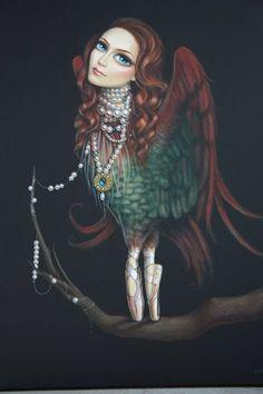 leile ataya feminine girl with pearl necklace
