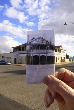 Lake Grace Hotel - Now & Then! By Snapper Mary