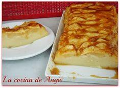La cocina de Angie: QUESADA DE MANZANA Apple Recipes, Sweet Recipes, Cake Recipes, Cooking Time, Cooking Recipes, Cooking Ideas, Delicious Deserts, Pie Cake, Sweet Tarts