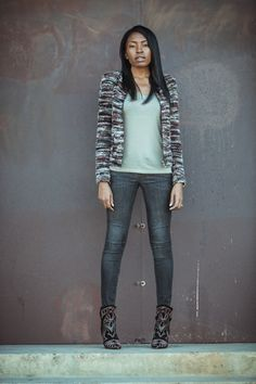 Etoile Isabel Marant Momo jacket, BDG tee,Habitual jeans, Isabel Marant Berry boots