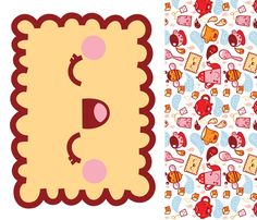 Biscuit Pillow fabric by bora on Spoonflower - custom fabric