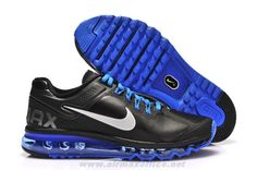 sale retailer 10852 50d69 New Nike Air Max 2013 Leather Black Blue White Nike Air Max Tn, Nike Air